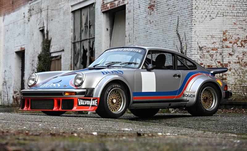 1977 Porsche 934/5 (photo: Mathieu Heurtault)