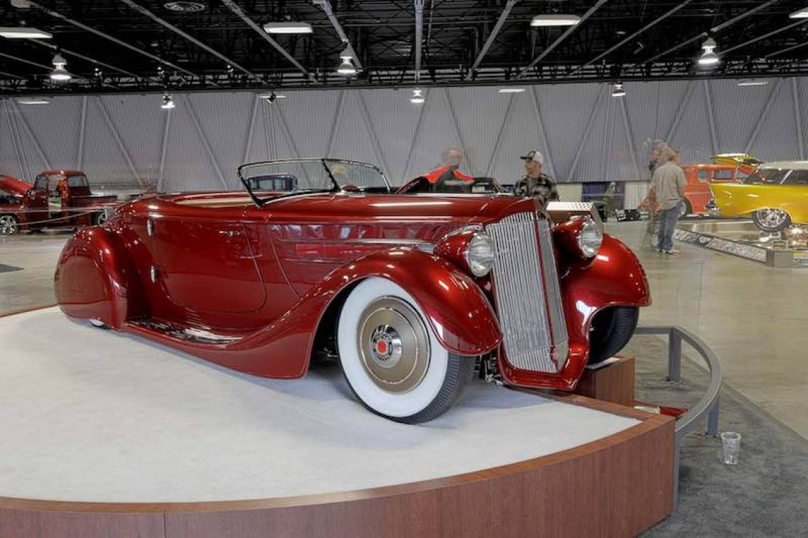 'Mulholland Speedster' built by Hollywood Hot Rods