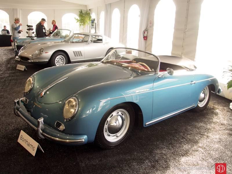 1956 Porsche 356A 1600 Speedster, Body by Reutter