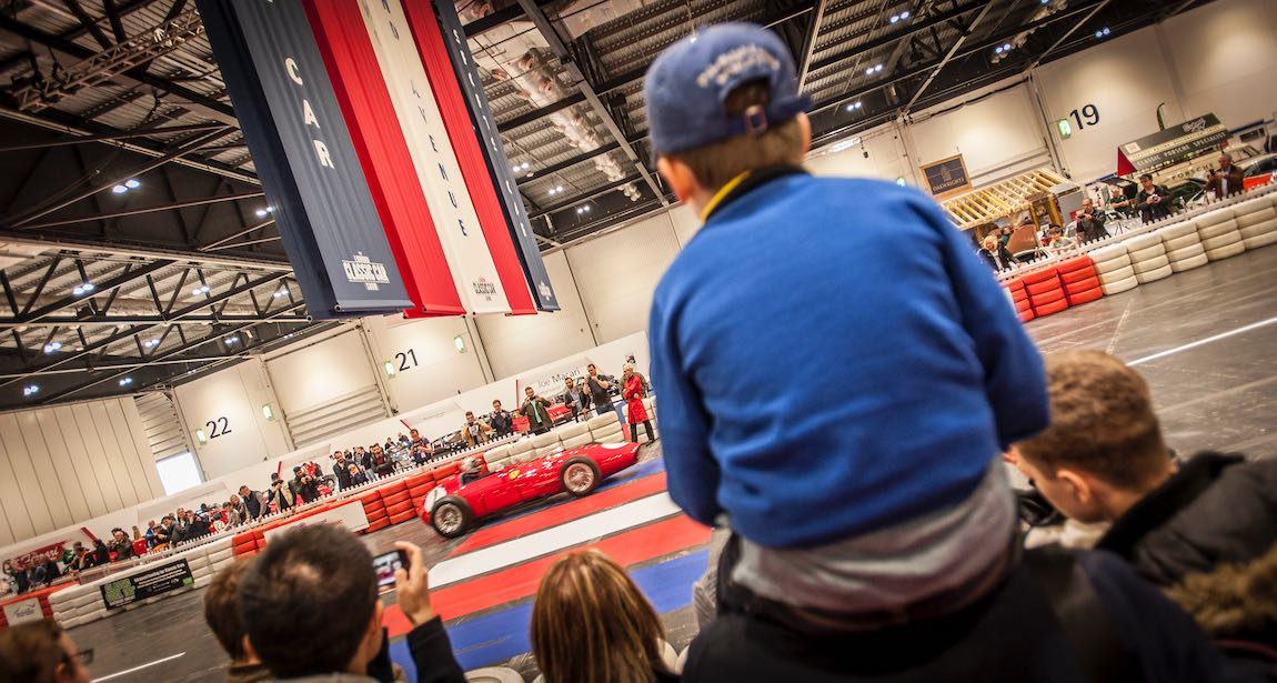 The Grand Avenue on the London Classic Car Show