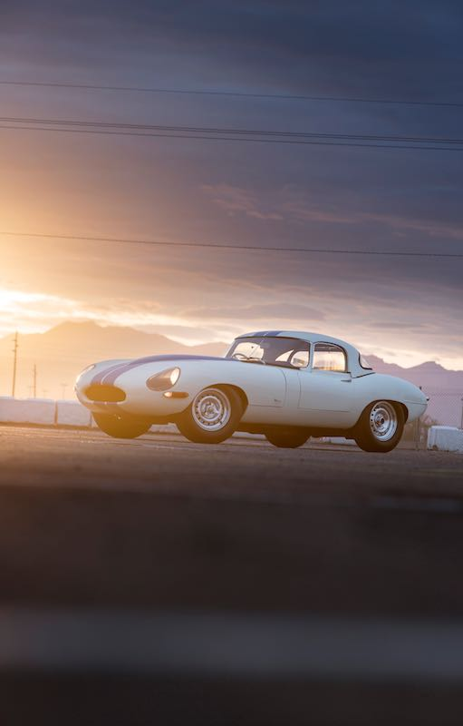 1963 Jaguar E-Type Lightweight Competition S850667 (photo: Pawel Litwinski)