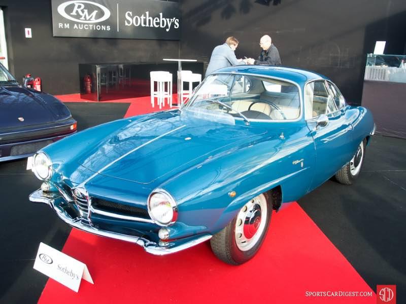 1962 Alfa Romeo Giulietta Sprint Speciale, Body by Bertone