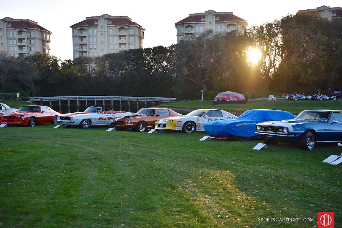 Chevrolet Camaro Class - Amelia Island Concours 2017