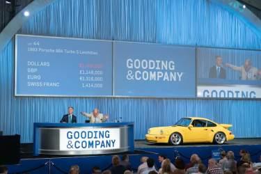 1993 Porsche 964 Turbo S Leichtbau sold for $1,540,000 (photo: Jensen Sutta)