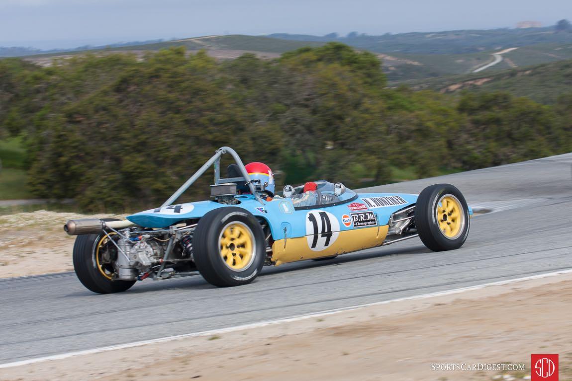 Nicolas Hunziker in his 1969 Lotus 51C