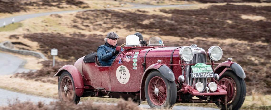 Wim van Soest (NL) / Kees van Soest (NL) 1936 Lagonda Le Mans