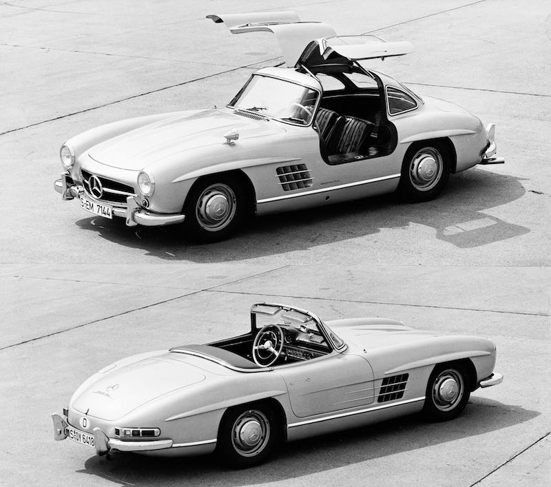 Mercedes-Benz 300 SL Roadster and Coupe
