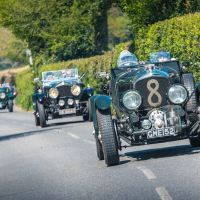Medcalf Vintage Bentley Drive Out