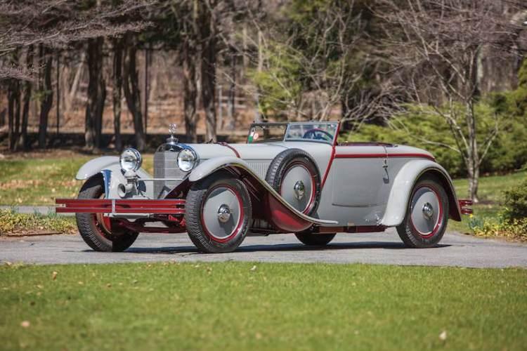 1928 Mercedes-Benz 680 S Saoutchik Torpedo (photo: Daniel Olivares)