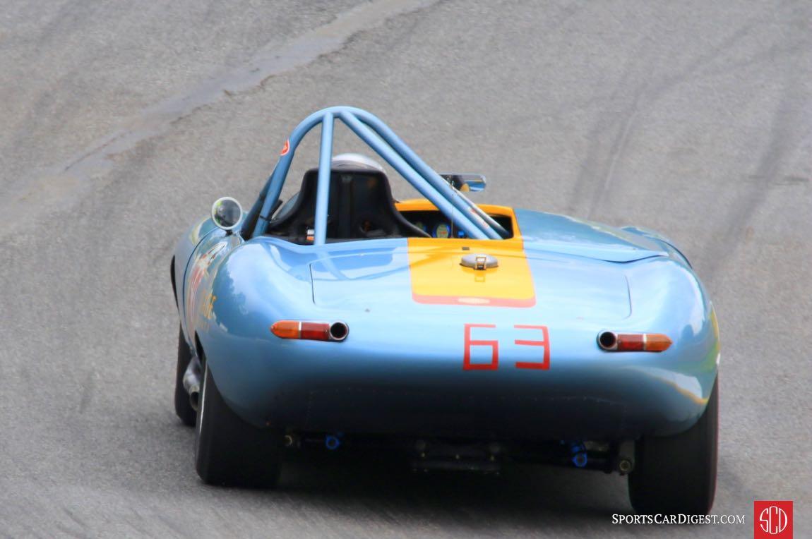 Debbie Graves, 63 Jaguar XKE