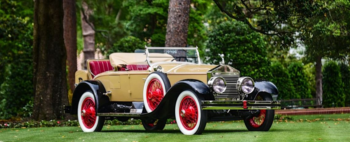 Best of Show Winner - 1925 Rolls-Royce Springfield Silver Ghost Piccadilly Roadster, ex-Howard Hughes