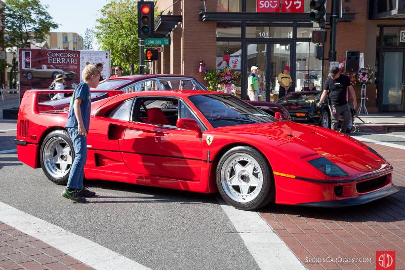 A boy can dream - Ferrari F40