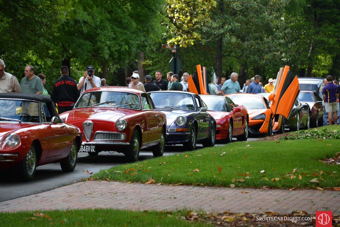 Iron Mike Rally at the 2017 Pinehurst Concours