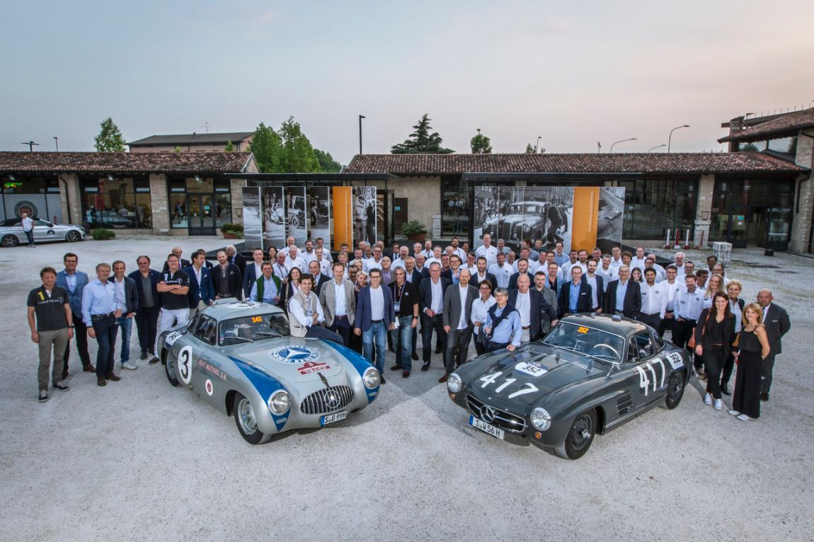 Mercedes-Benz at 2017 Mille Miglia