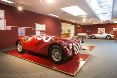 Under the Skin and Infinite Red Exhibits at Ferrari Museum Maranello