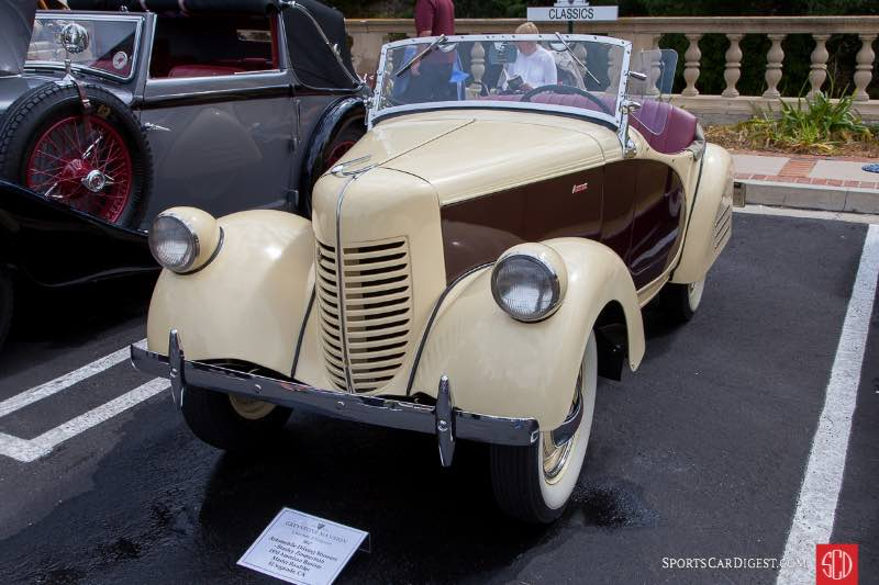 1938 American Bantam Master Roadster, owned by Automobile Driving Museum - Stanley Zimmerman