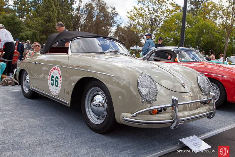 1958 Porsche Speedster 356A, owned by Will Sanchez