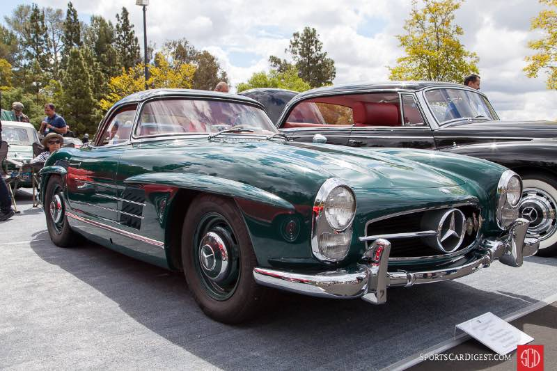 1961 Mercedes-Benz 300 Roadster, owned by Dawn Ahrens