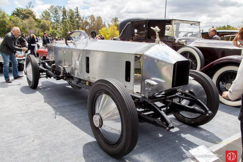 1919 Rolls-Royce Silver Ghost, owned by David S. Morrison, MD