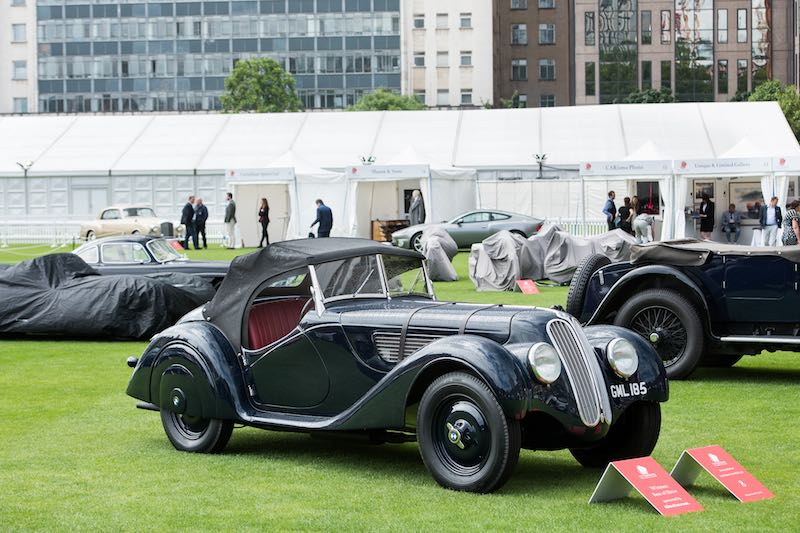 Best of Show Winner - Frazer Nash BMW 328 (photo: Tim Scott)