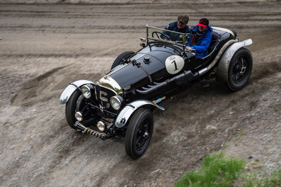 Baltic Classic 2017. Day 02 Gothenburg - Karlstad, Car 01. Bill Cleyndert (GB) / Jacqui Norman (GB) 1925 Bentley 3-4 1/2