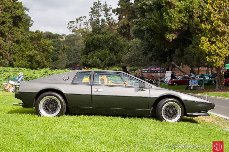 1978 Lotus Esprit S1, owned by Joe Tseng