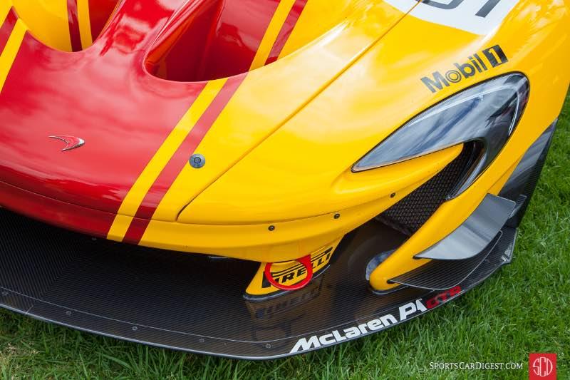 McLaren P1 GTR, owned by David lee