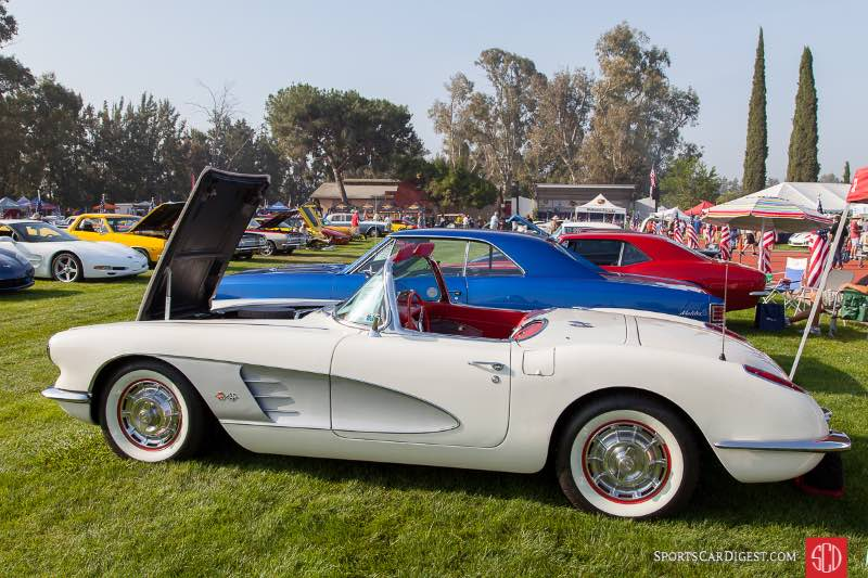 1960 Chevrolet Corvette, owned by Lee McKoy