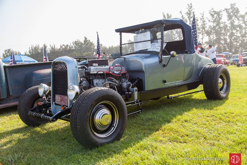 1927 Ford Roadste, owned by Mike McNerne