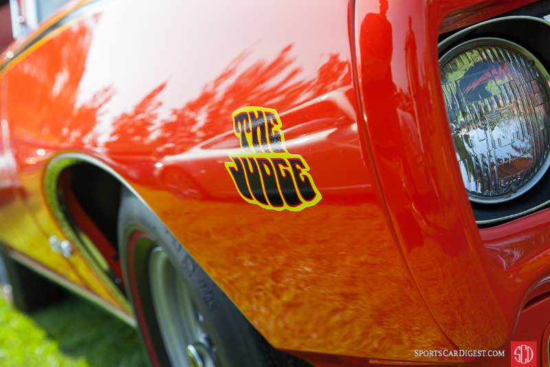 1969 Pontiac GTO - The Judge, owned by Donald Teixeita