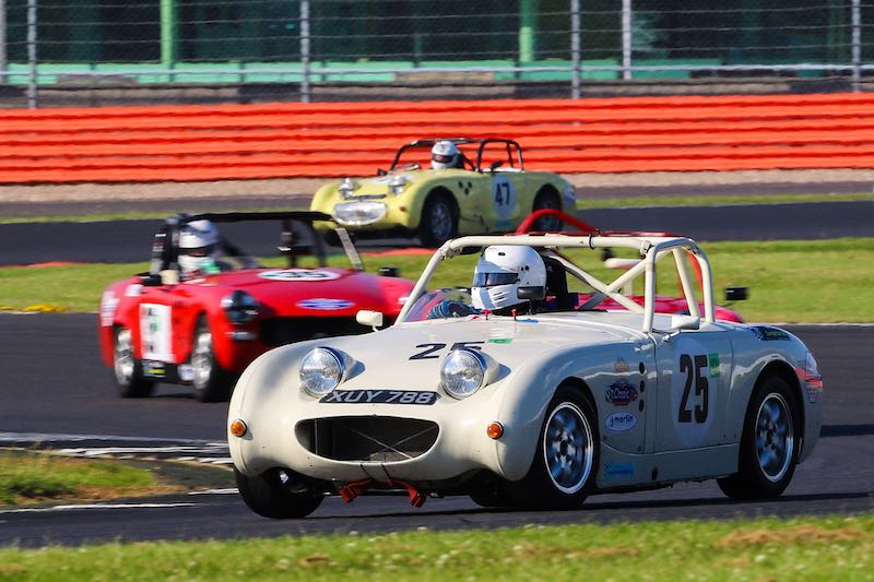 MG Midgets and Sprites Race (photo: Dickon Siddall)