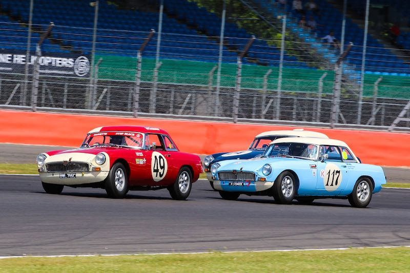 MG Equipe GTS Race (photo: Dickon Siddall)