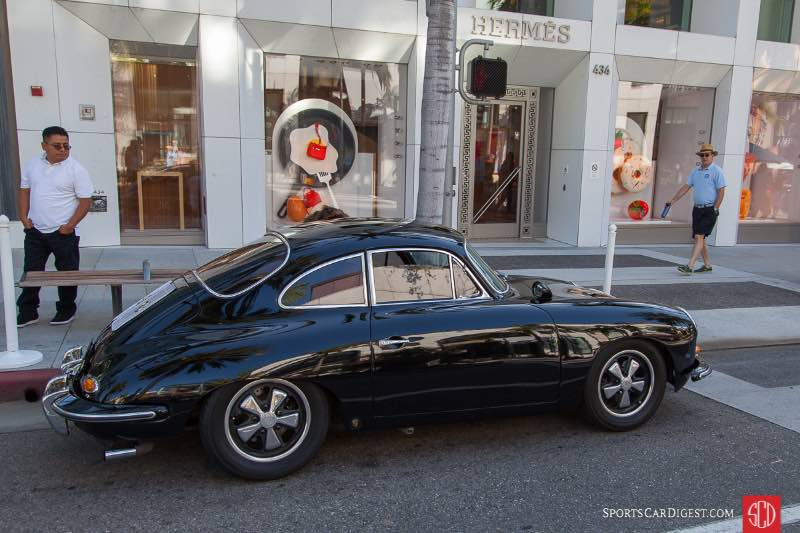 1964 Porsche 356B Coupe, owned by George Carroll
