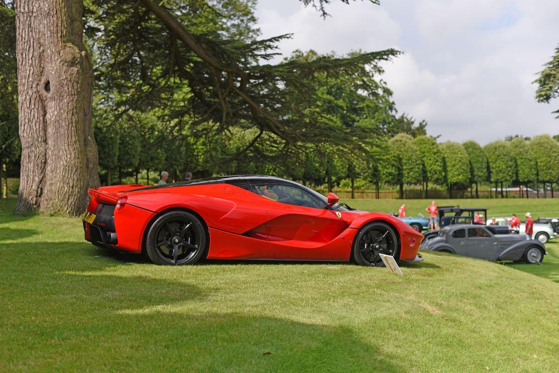 2014 Ferrari LaFerrari at Heveningham Hall Concours d'Elegence 2017. Credit Rufus Owen