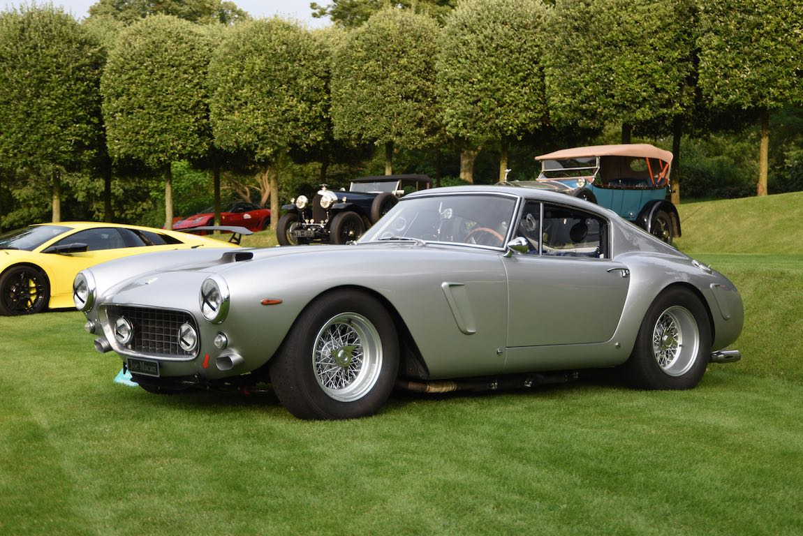 1961 Ferrari 250 GT SWB Berlinetta Competizione at Heveningham Hall Concours d'Elegence 2017. Credit Rufus Owen
