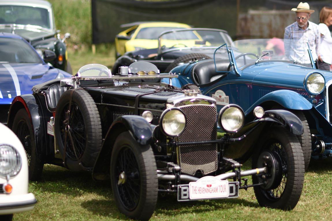 1935 Frazer Nash TT replica 2 at Heveningham Hall Concours d'Elegence 2017. Credit Rufus Owen