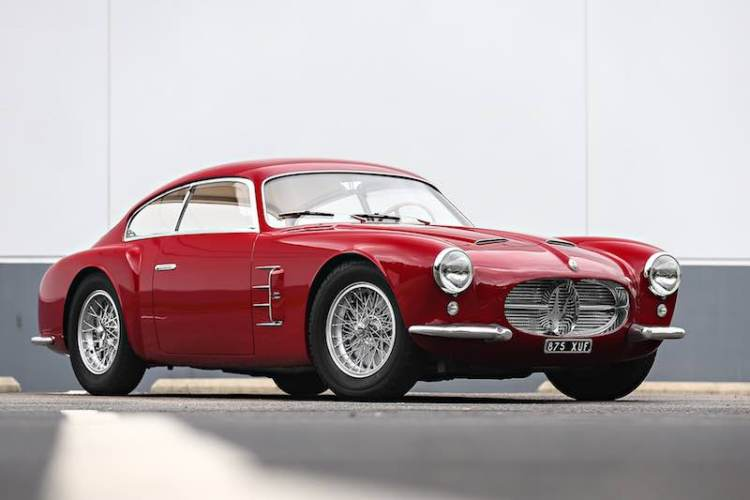 1956 Maserati A6G/54 Berlinetta (Photo: Mathieu Heurtault)