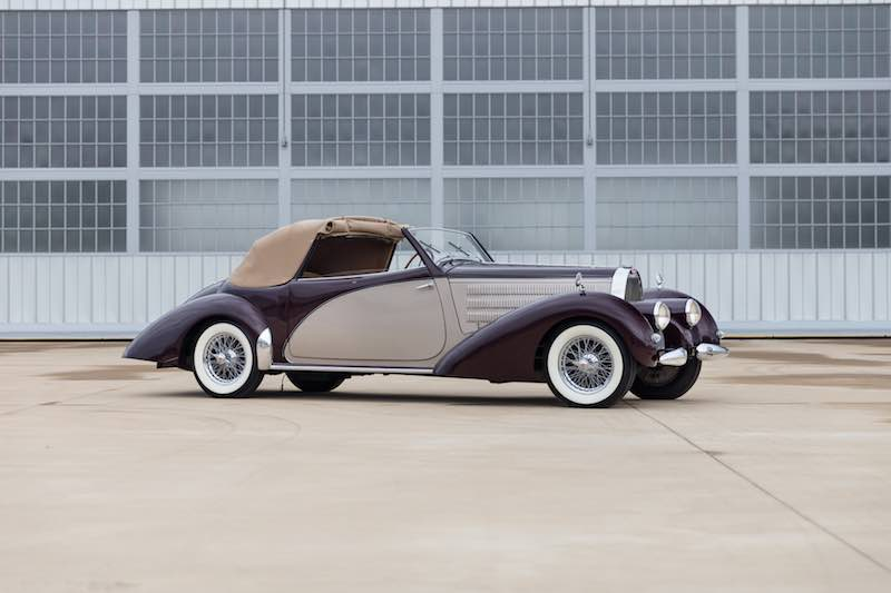 1939 Bugatti Type 57C Cabriolet (Photo: Mike Maez)
