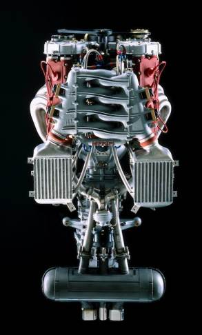 The engine of F40