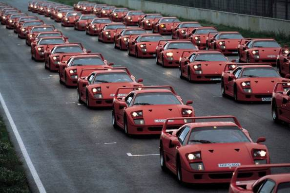 Event of Ferrari Club Germany (1992)
