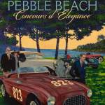 Pebble Beach Concours Posters Revealed