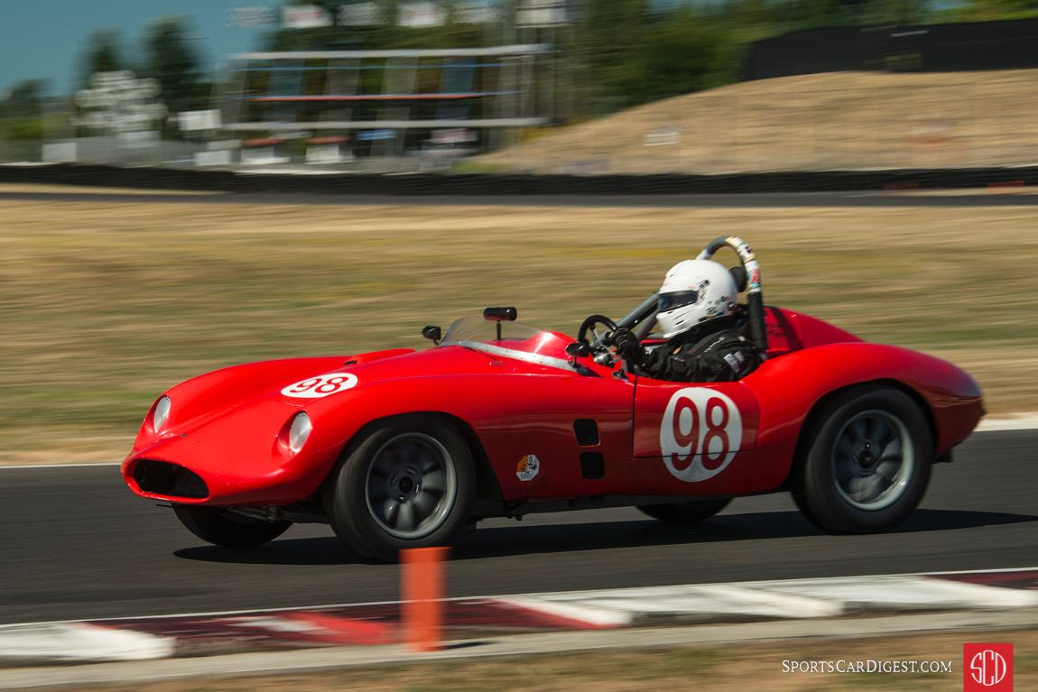 Bill Hart - 1957 Devin Triumph