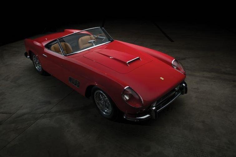 1959 Ferrari 250 GT LWB California Spider 1503 GT (photo: Darin Schnabel)