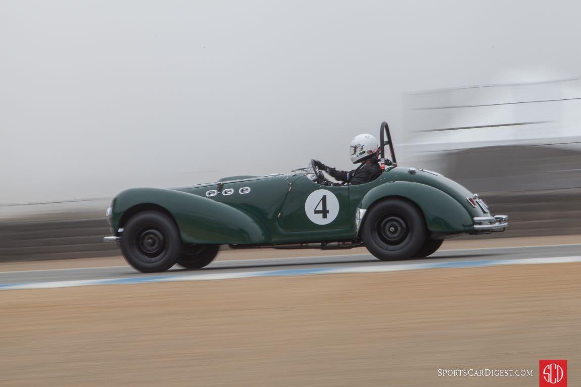 Ted Herb - 1951 Allard K2