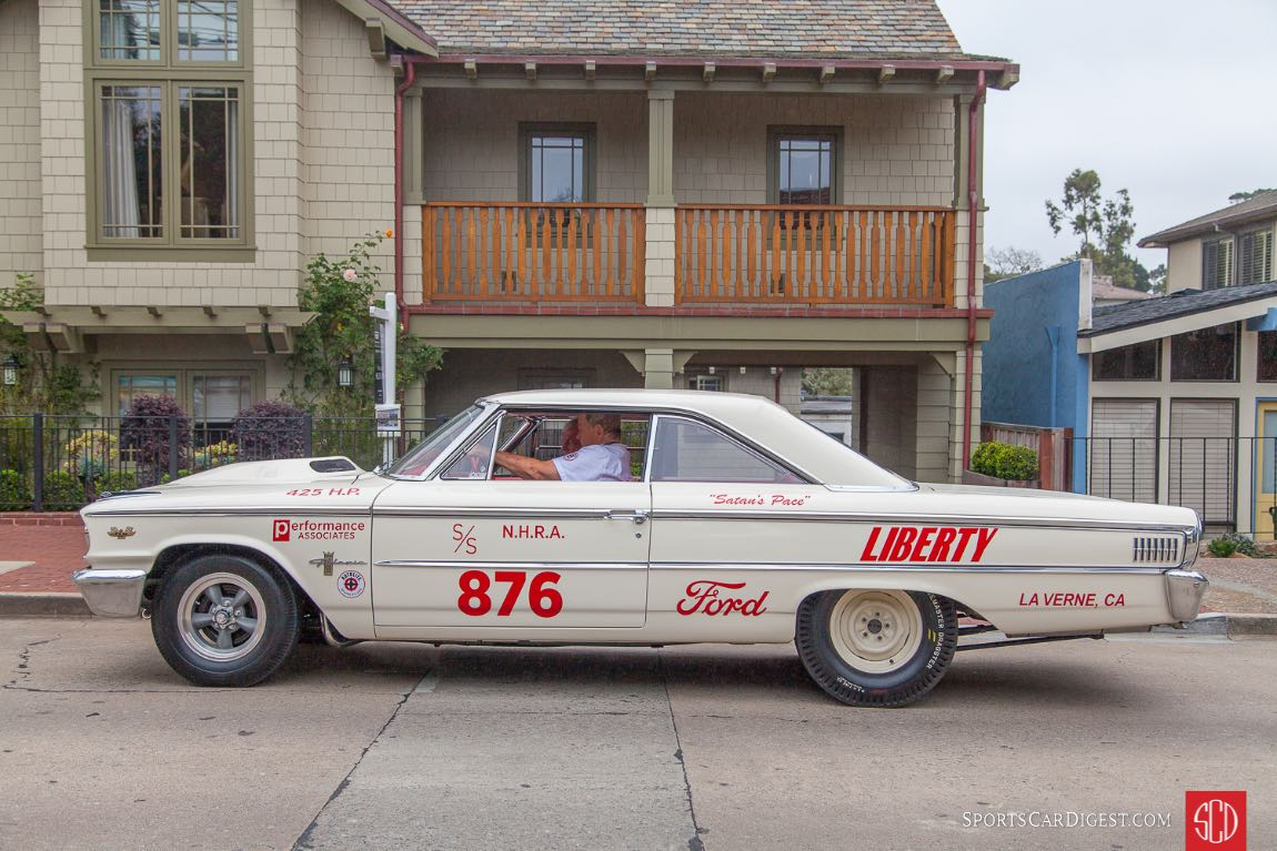 1963 FordGalaxie 500 2 Door Lightweight Factory Drag Car