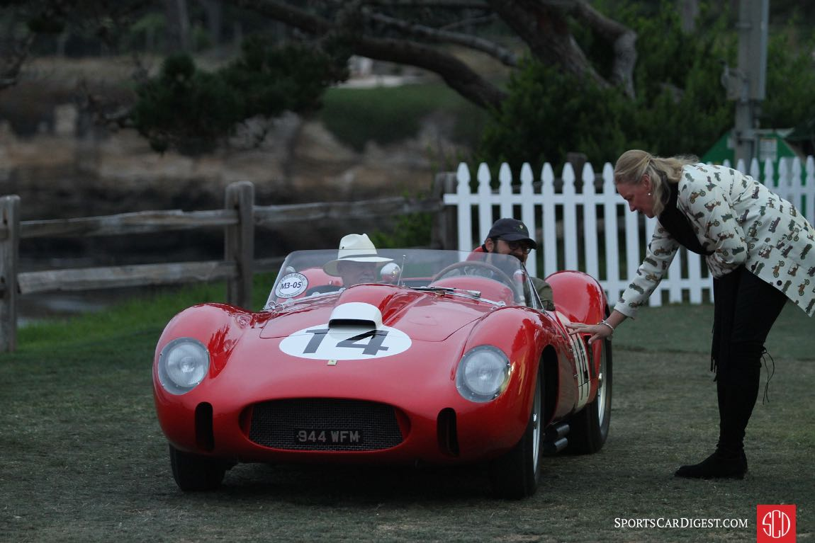 1958 Ferrari 250 Testa Rossa Scaglietti Spider chassis 0728 finished first overall at the 24 Hours of Le Mans in 1958 driven by Phil Hill and Olivier Gendebien, and it was third overall at that year's Targa Florio driven by Mike Hawthorn and Wolfgang von Trips