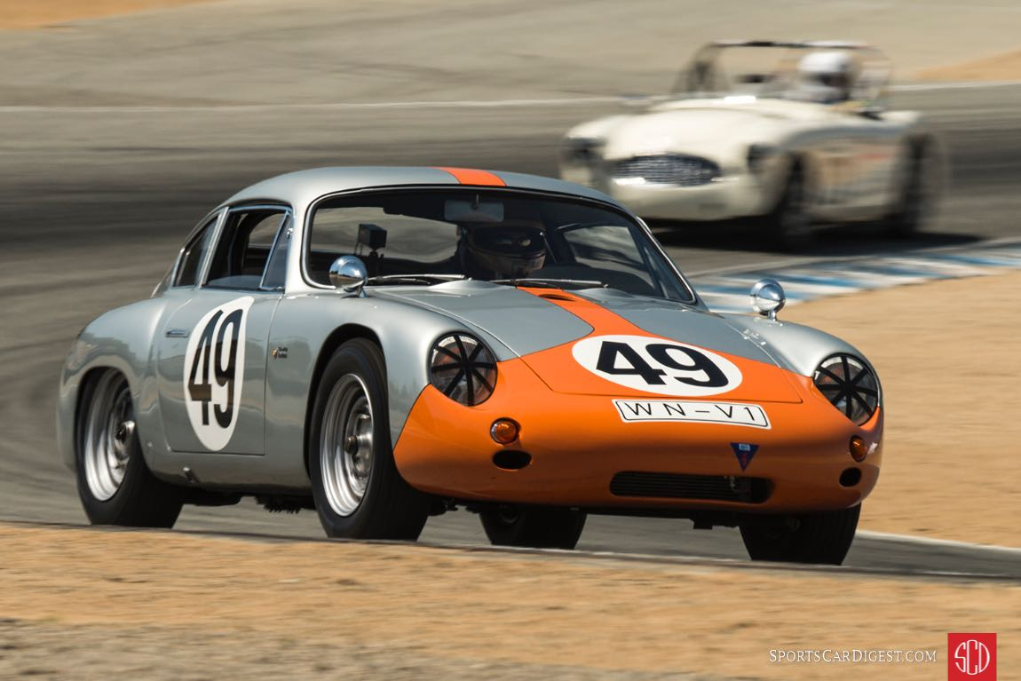 Ranson Webster - 1961 Porsche Abarth Carerra