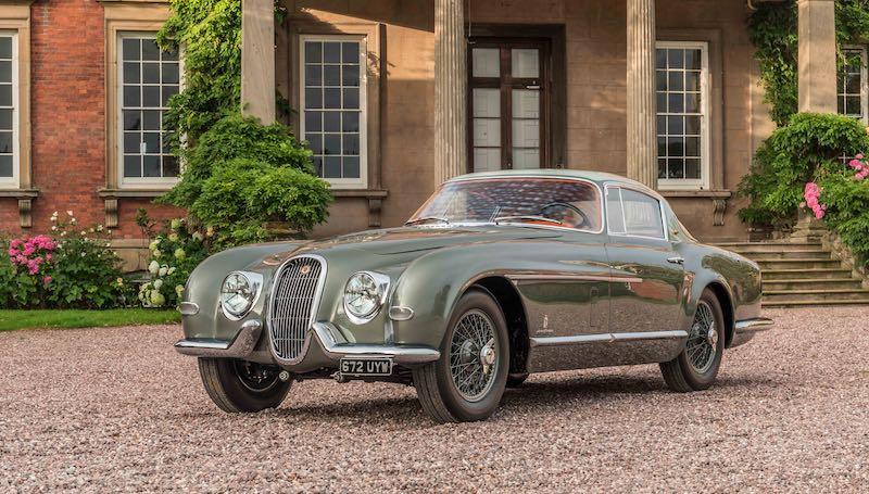 1954 Jaguar XK120 SE Pinin Farina Coupe (Photo: Justin Leighton)