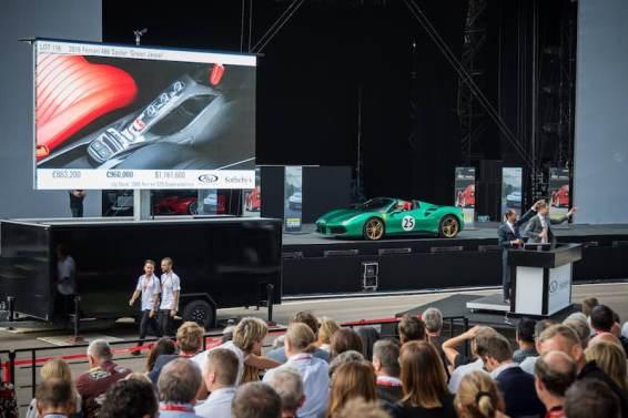 2016 Ferrari 488 Spider Green Jewel
