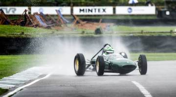 Martin Stretton in the Lotus BRM 24